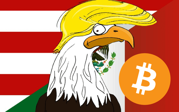 トランプ大統領令でメキシコのビットコイン需要が高まる可能性