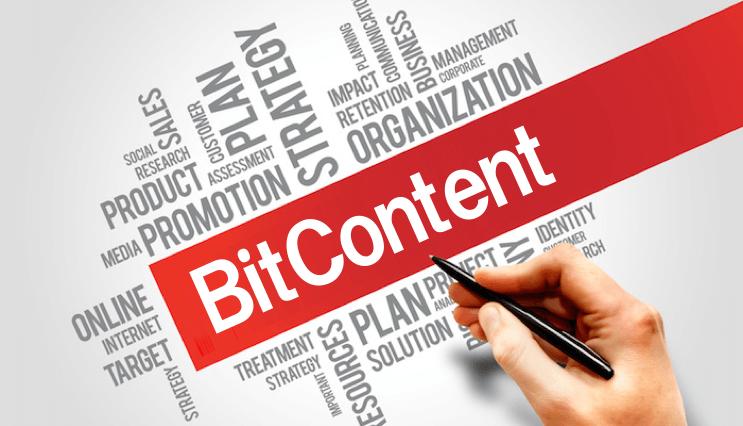 ビットコインで個人ビジネスが可能に「BitContent」
