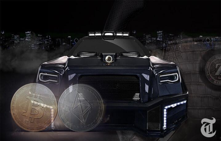 ビットコイン・イーサリアム支払い限定で購入可能Black Alligator SUV