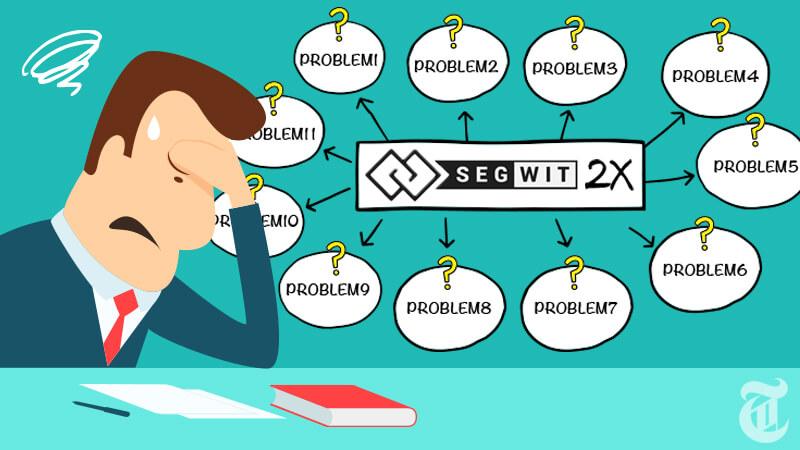 SegWit2xが抱える11の問題とは?