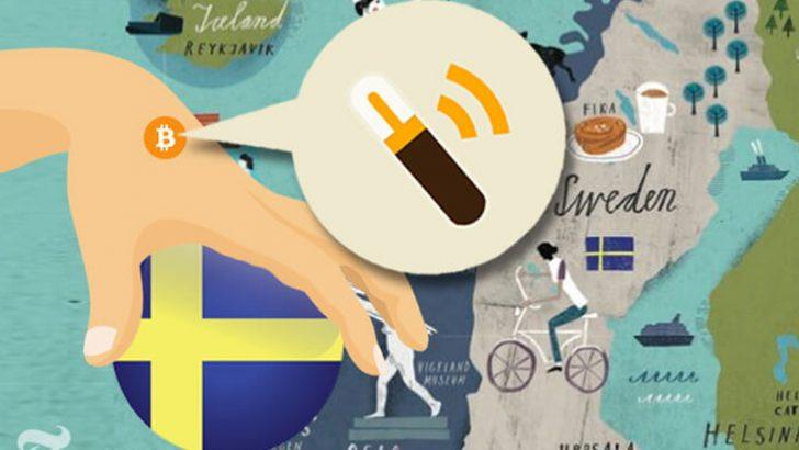 ビットコインをマイクロチップで手に埋め込む日も近い「スウェーデンでは実用化済み」
