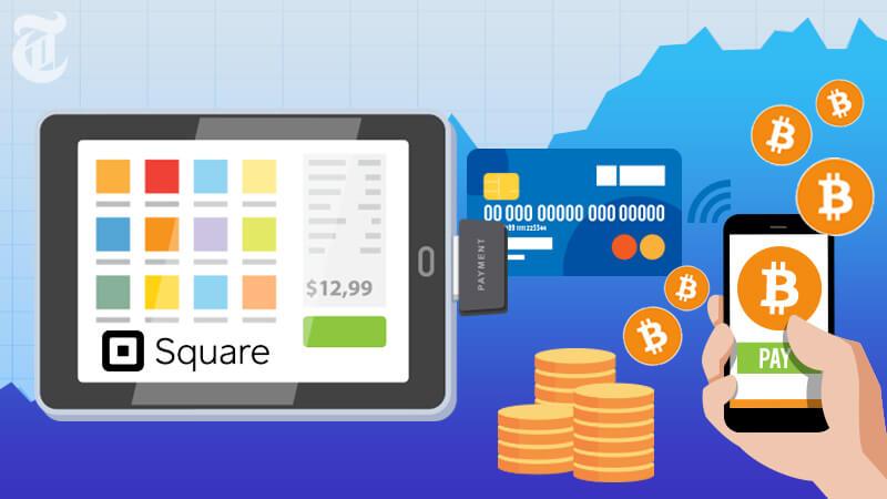 ビットコイン決済テスト成功で株価3%上昇「Square」
