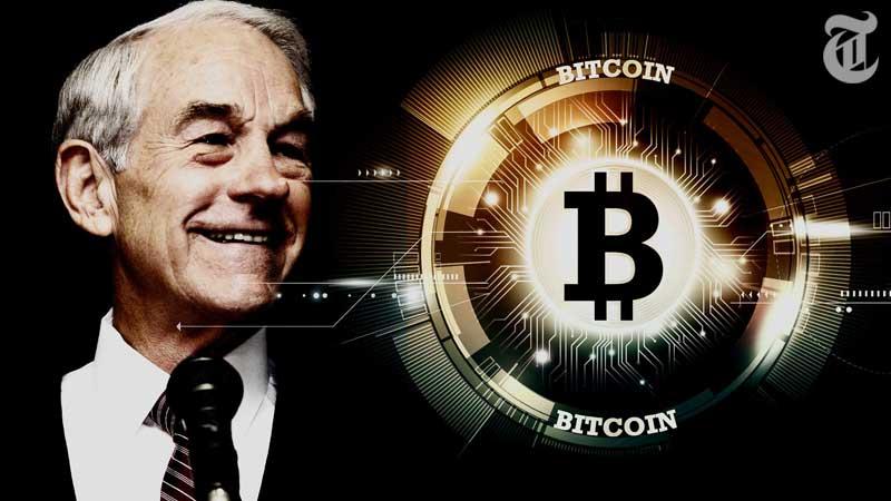 ビットコインで退職金「元米国大統領候補Ron Paul氏がCM出演」