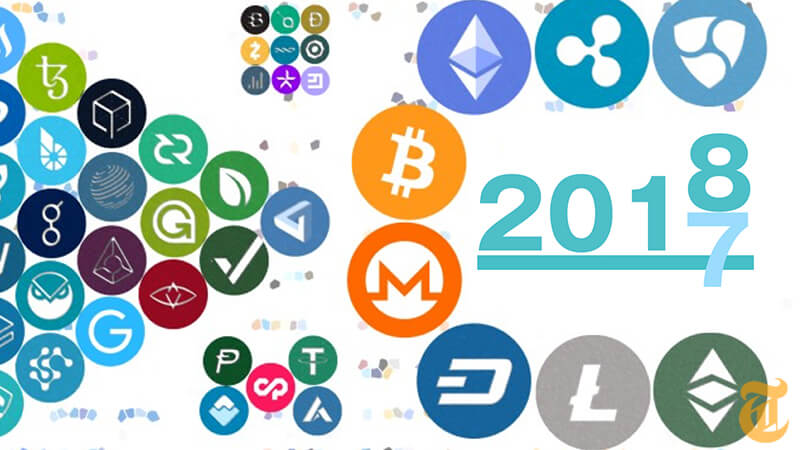 ビットコインの価格とニュースで振り返る「仮想通貨元年」