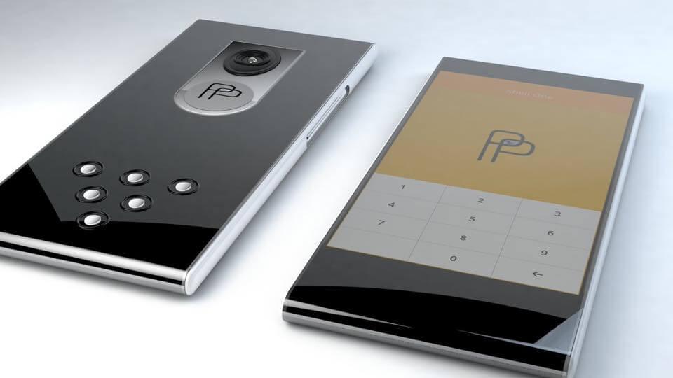 ジョンマカフィー設計のスマートフォン画像