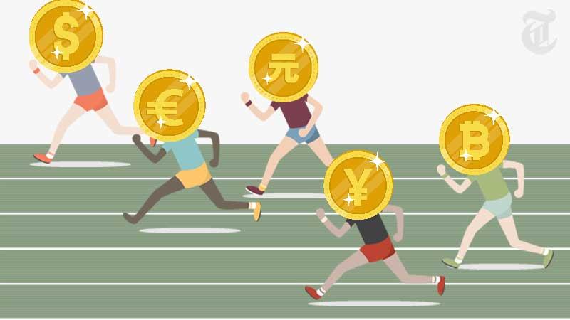 ビットコインの時価総額が各国の現金と比べて第6位にランクインした