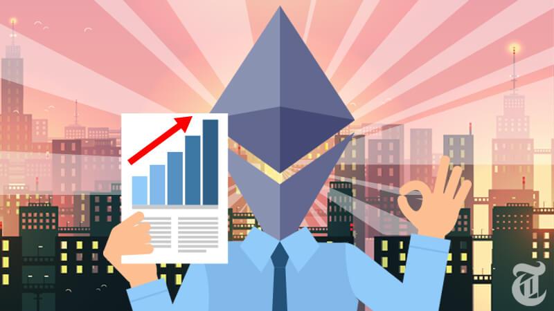 「イーサリアム価格は2018年に3倍の15万円を超えるだろう」ノボグラッツ氏インタビューにて発言