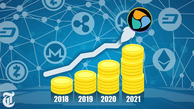 NEM(ネム)今後の価格は6万倍になる?【2018年〜2021年まで予測】