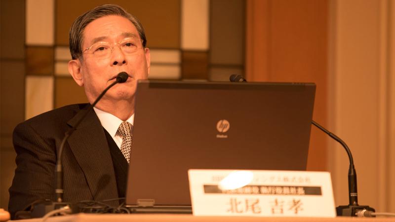 コインチェックの資産管理を徹底批判、SBI北尾社長の厳しい指摘