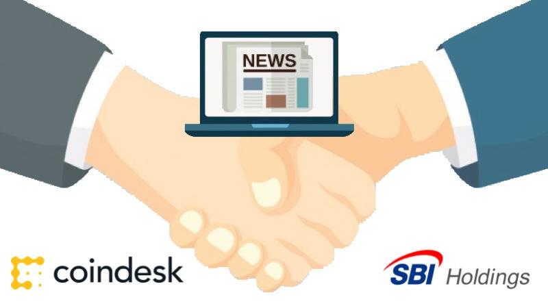 SBIが大手仮想通貨メディアCoinDeskと業務提携