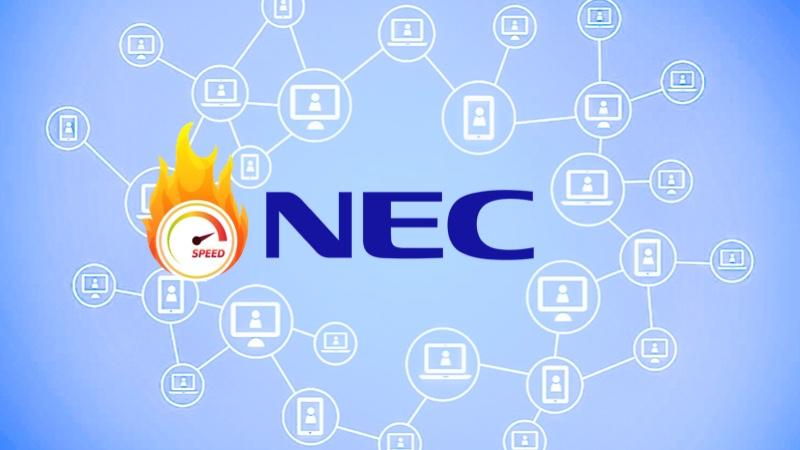 NECがブロックチェーン技術で世界最速の記録性能を達成