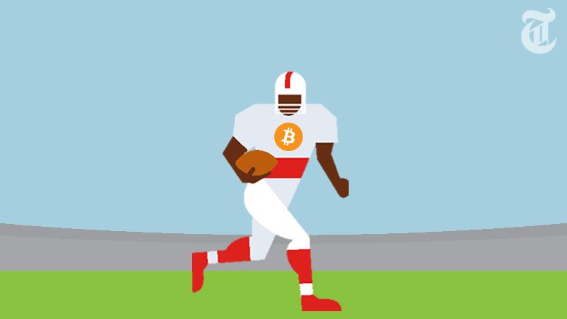NFLのスター選手、ロッカールームで「ビットコイン」話題に