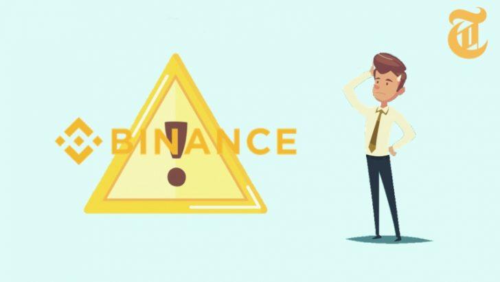 金融庁がBinanceを違法業者として正式に公表