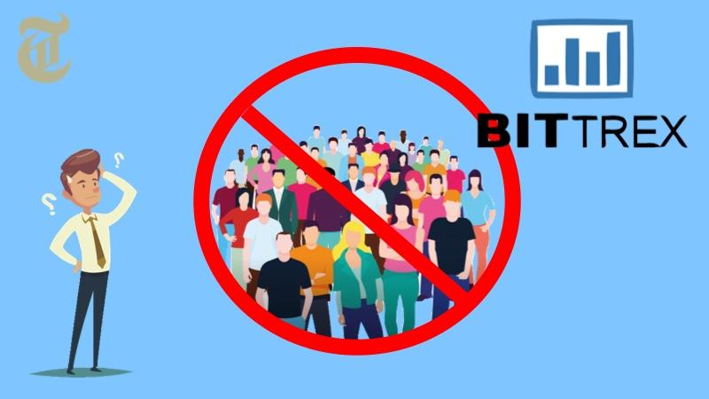 Bittrexが米国の制裁対象国の住民をブロック