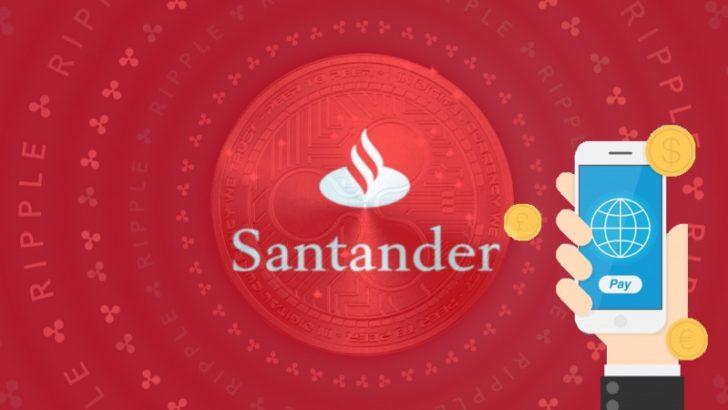 Rippleとサンタンデール銀行が提携し国際送金アプリを開発