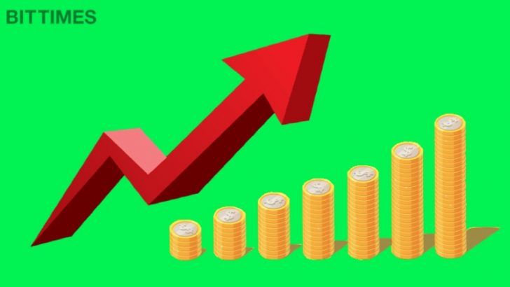 ADAロケット発射 上昇率20%の仮想通貨5銘柄