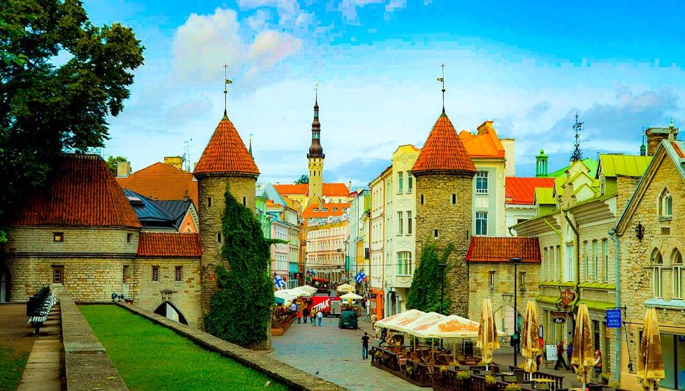 エストニアの風景
