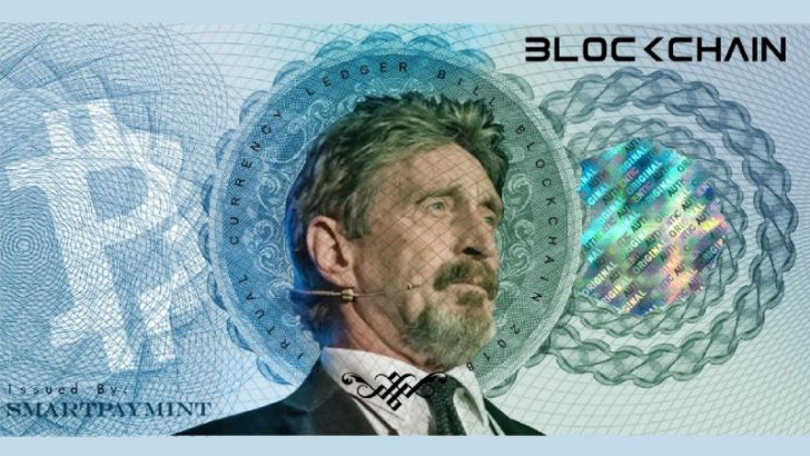 John McAfeeがマカフィーコイン(McAfee Coin)をリリースか