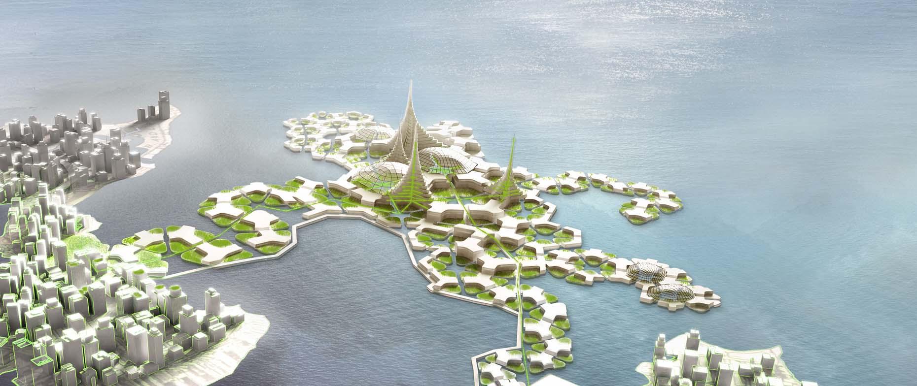 Blue21でオランダの技師が開発した中期将来の「シーステッド」コンセプト