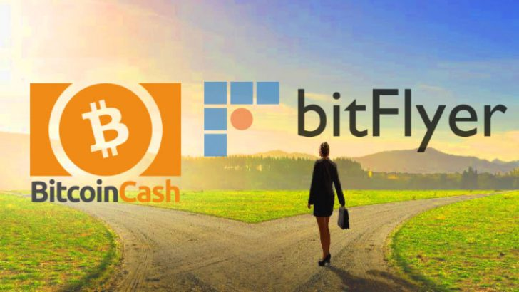 ビットコインキャッシュのハードフォークに伴いbitFlyerがサービスを停止