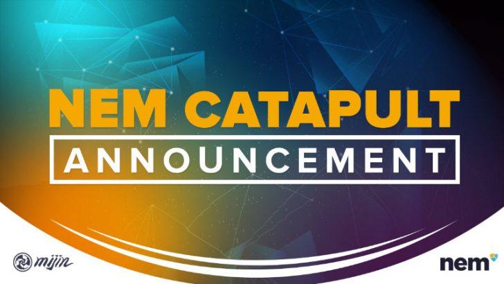 ネム(NEM/XEM)カタパルト「mijin v.2」が一般公開