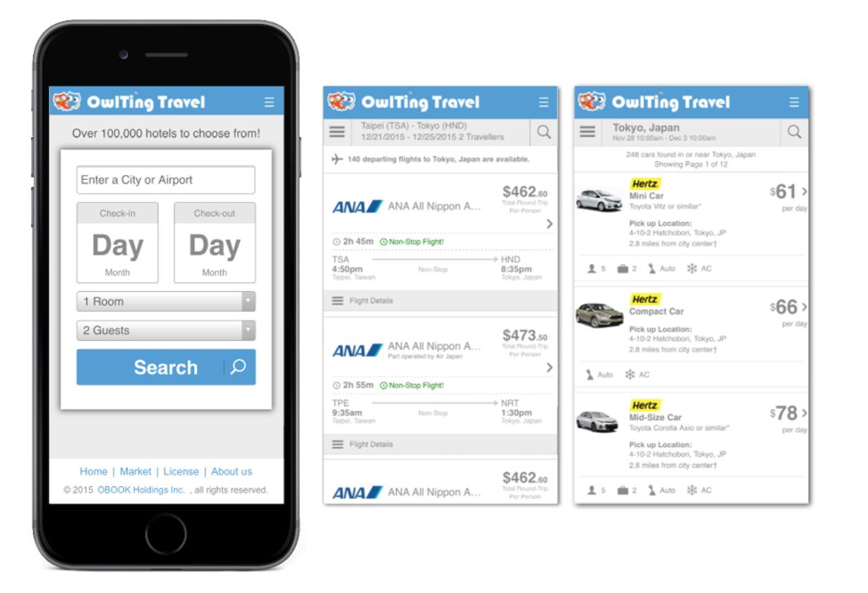 OwlTing社が提供するアプリ