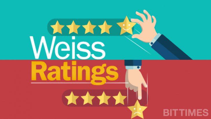 Weiss Ratingsが格付けを公開|ハードフォークへの懸念も