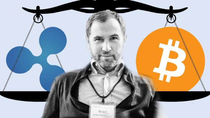 リップルとビットコインの価格相関性について|Ripple社CEOのコメント
