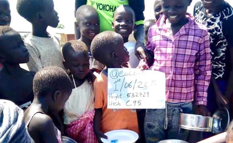 南スーダンの子供達