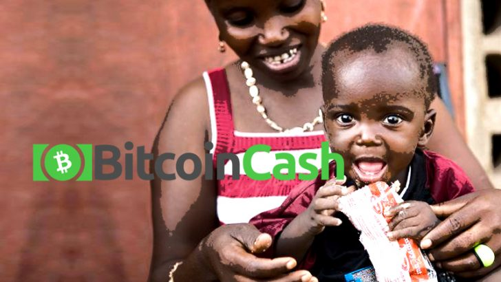 ビットコインキャッシュの慈善団体が南スーダンで食糧供給