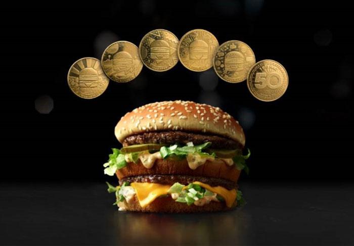 MacCoin Big Mac(引用:mcdonalds.com)