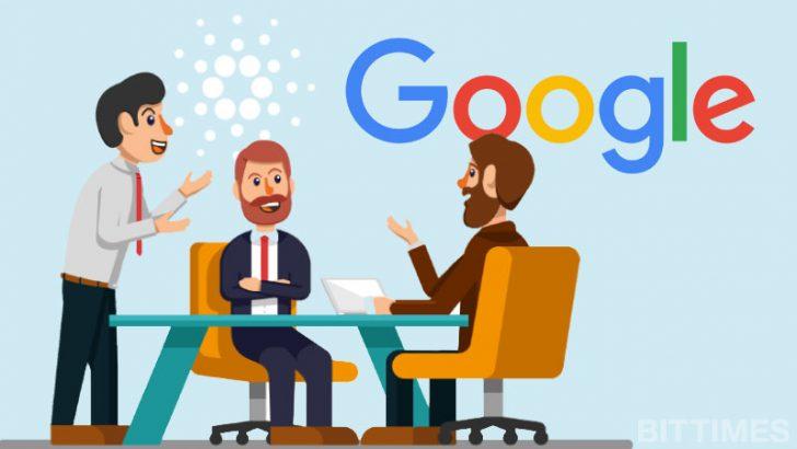 Googleロンドン本社でCardanoやADAの未来を語る|Charles Hoskinson