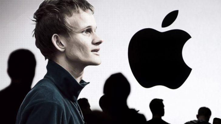 ヴィタリックVSアップル「仮想通貨への対応は理解できない」