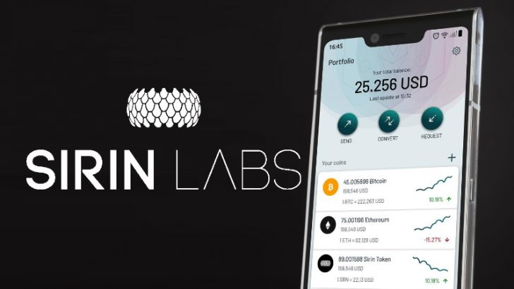 Blockchain Smartphone「FINNEY」のデザイン公開!SIRIN LABS