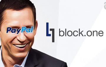 「Block.one」にPeter Thielなど数名の億万長者が投資
