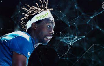仮想通貨に投資するテニス選手「Gael Monfils」とeToroがパートナーシップを締結