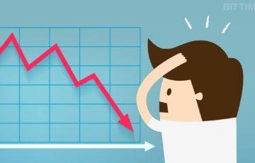 仮想通貨全体が下落|総時価総額は2018年の最低水準を記録