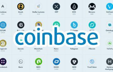 Coinbase:カストディサービスにADA・XRP・EOSなど40種類の仮想通貨追加を検討