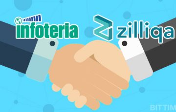 インフォテリア:シンガポールのブロックチェーン企業「Zilliqa」と提携