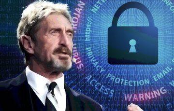 ジョン・マカフィー:ライブ配信でBitfi Walletハッキングの誤解を解く