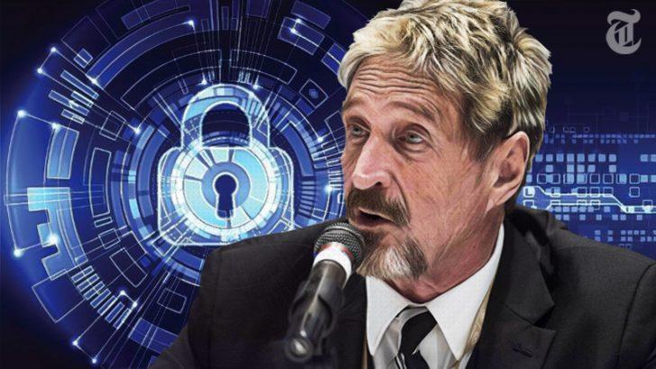 John McAfee & Bitfi:セキュリティカンファレンスで「最も酷いで賞」を受賞