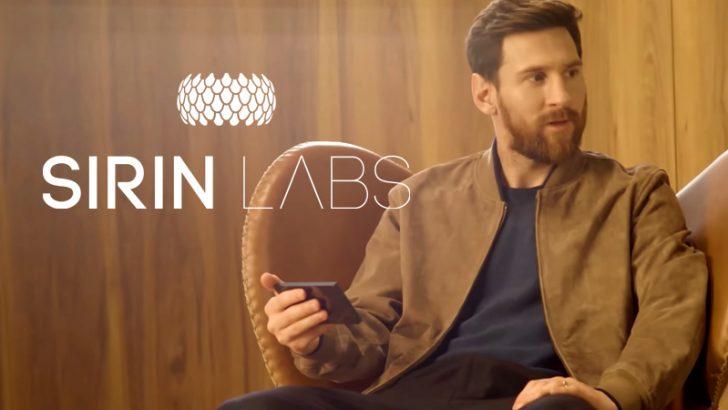 SIRIN LABS:Messi(メッシ)氏が出演する「FINNEY」CMメイキング映像を公開
