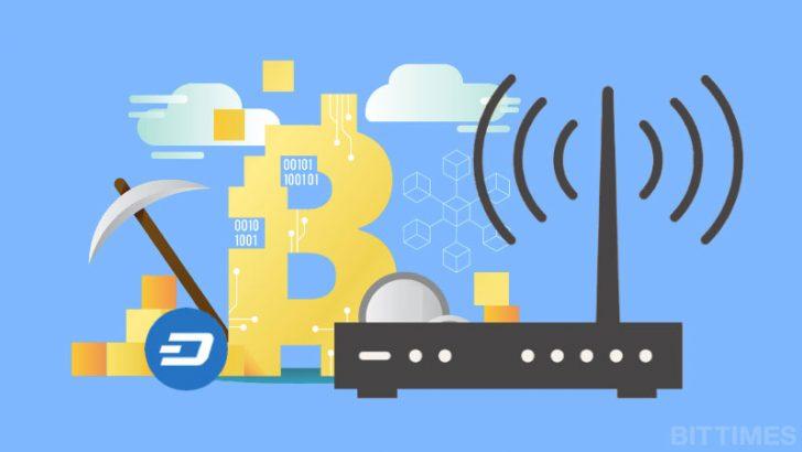 Wi-Fiルーターで仮想通貨マイニングができる!ビットメインが新商品を発表