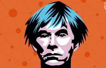 ブロックチェーン・オークション「Andy Warhol」の作品が数億円で落札される