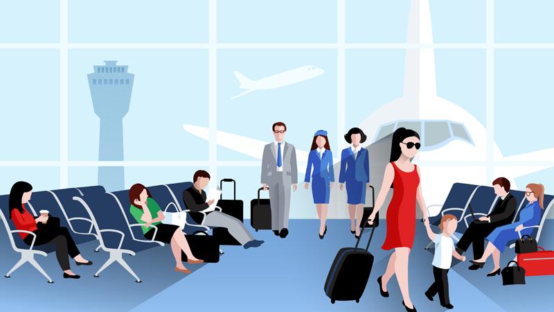 航空業界とブロックチェーンの画像