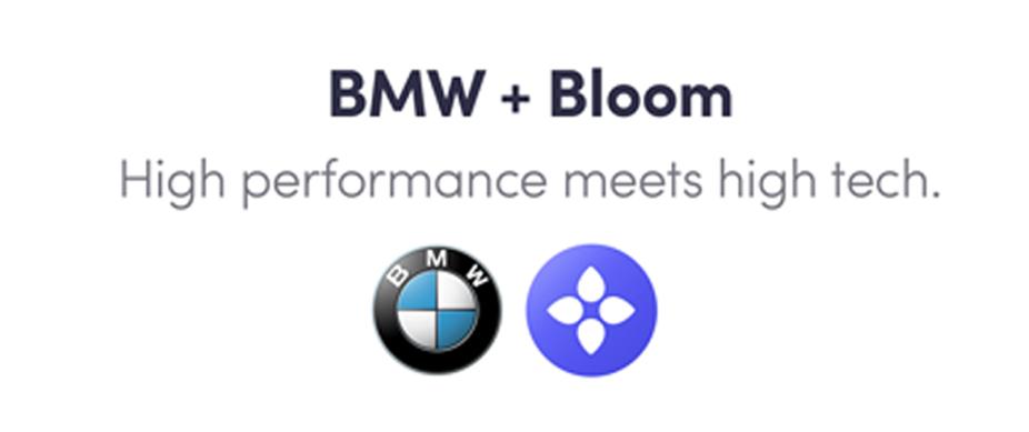 BMWとBloomの画像