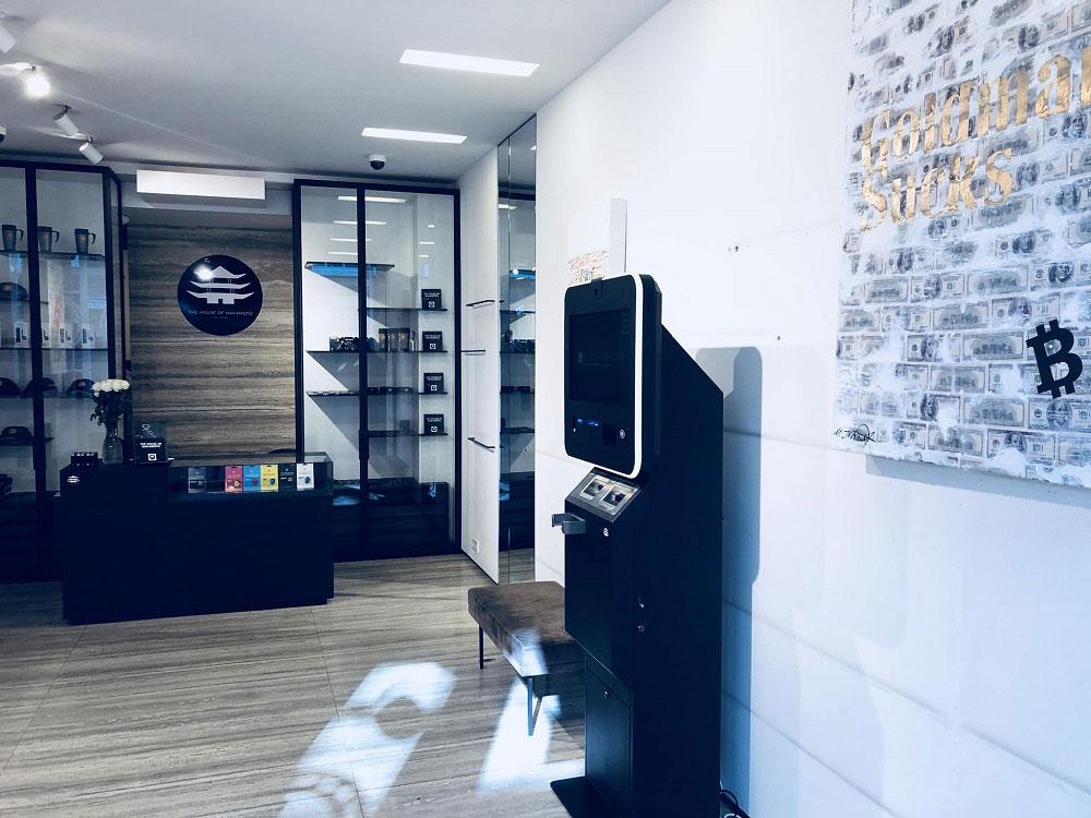 設置されている仮想通貨ATM(画像:Bitcoin.com)