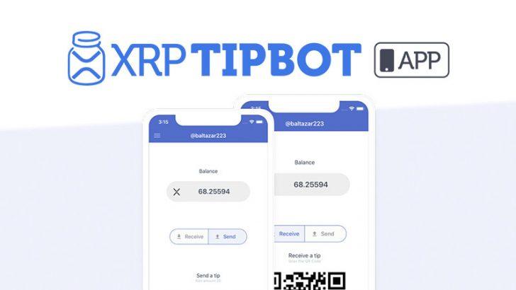 リップルが使える少額送金アプリ「XRP Tip Bot」公開!ー iPhone・Android両方に対応