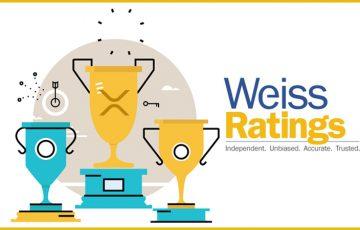 リップル(XRP)が1位獲得 ー 1ドル以下で購入できる「最良の仮想通貨」WeissRatings