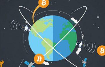 ビットコインを人工衛星を使って送金するプロジェクトが誕生